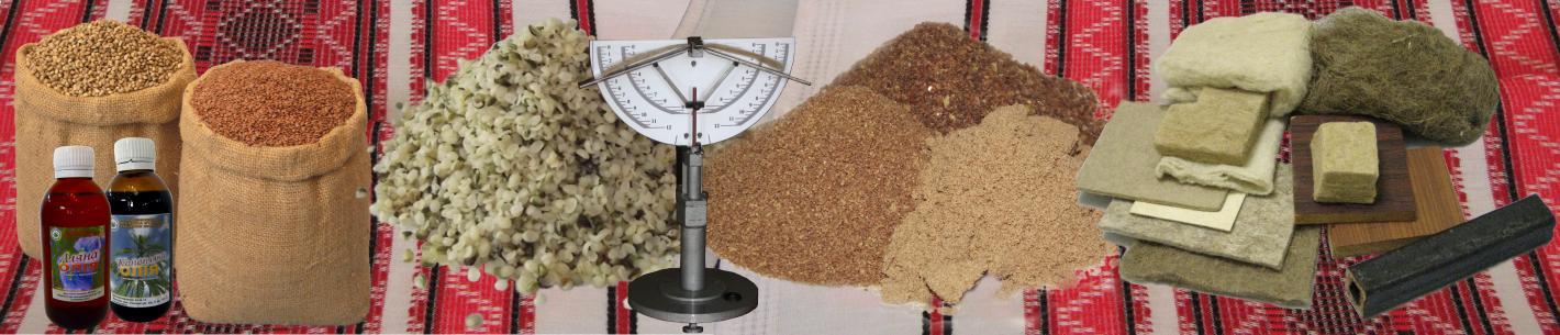 Продукція льону і конопель